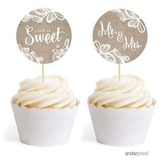 60x White Vine Lace Cupcake Wrappers Wedding Party Favour DIY Cake Decoration