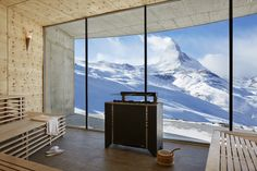 Hotel Riffelhaus - Zermatt, #Switzerland With a... | Luxury Accommodations #sauna