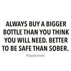 Buy bigger