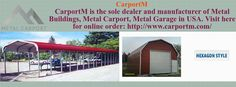 Metal Carports are the metal outfits settled outside the house.