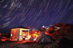 Goblin Valley at night. Campsite. Via Flickr