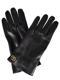 GUCCI Gucci Marmont Leather Gloves. #gucci #gloves