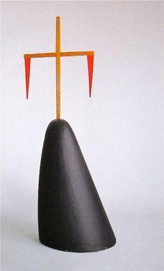 """Isamu Noguchi Sculpture from  """"Dark Meadow"""" 1945"""