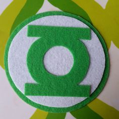 Green Lantern Inspired Adhesive Patch / Magnet by TwoPickles