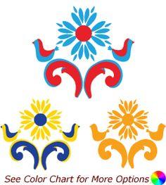 norwegian rosemaled patterns