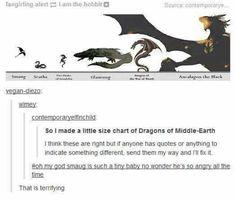 dragon size chart - Google zoeken