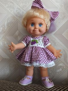 (70) Одноклассники - Galoob baby face doll