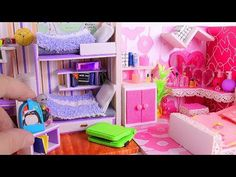 DIY Miniature Classroom and School Supplies: Back 2 School! - YouTube