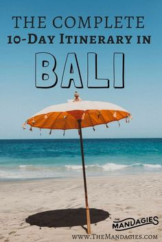 Come explore everything Indonesia has to offer with our 10 Day Bali Guide to the best spots on the island! This includes Uluwatu, Ubud, Waterfalls, temples, indonesian food, and so much more! TheMandagies.com
