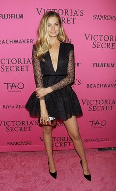 The Victoria's Secret model will sit front row during MBFWA #fashionweek #model #news