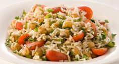 Roasted Coriander, Chickpea and Lime Rice