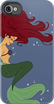 This person has tons of custom iPhone cases. Lots of Ariel ones! Eek!