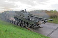 Challenger 2 Main Battle tanks head to Poland for NATO Exercise The British Army has started transporting Challenger 2 Main Battle Tanks to Poland today for an upcoming NATO exercise in Eastern Europe.