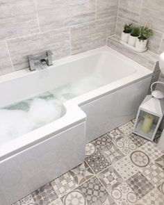"102 Likes, 6 Comments - DawnInteriors (@mrsdawnrooney) on Instagram: ""Bath time have a lovely evening #interiør #nordiskehjem #interiorinspo #retreathome #bathroom…"""