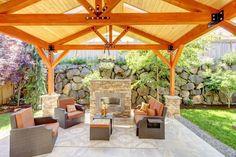 35 besten outdoor berdachungen pavillons gartenh user. Black Bedroom Furniture Sets. Home Design Ideas
