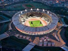 Amazing 2012 London olympics soccer stadium.