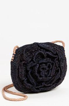 Mar y Sol Raffia Crossbody Bag | Nordstrom