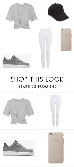 """""""Untitled #163"""" by skirmantesatkute on Polyvore featuring T By Alexander Wang, Topshop, NIKE and rag & bone"""