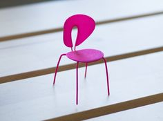 Designer Chair Miniature Stua Globus by Alminty3D on Etsy