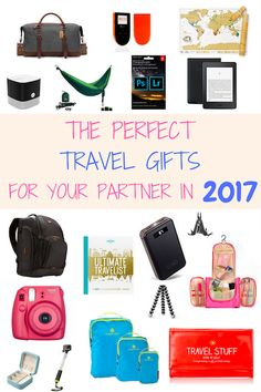 Unsure what to get the travel lover in your life? Here are the perfect travel gifts for your partner in 2017