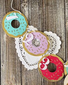 35 Likes, 4 Comments - Tera Hare Wedding Wishlist, Decor Wedding, Baby Crafts, Hare, Donuts, Washer Necklace, Strong, Instagram, Marriage Decoration