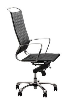 Space Office Chair - Pin it :-) Follow us :-)) AzOfficechairs.com is your Office chair Gallery ;) CLICK IMAGE TWICE for Pricing and Info :) SEE A LARGER SELECTION of  space office chair at http://azofficechairs.com/?s=space+office+chair - office, office chair, home office chair -  Zuo Jackson High Back Office Chair, Black « AZofficechairs.com