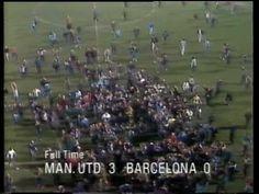 man united v barcelona 1984 european cup winners cup quarter finals seco...