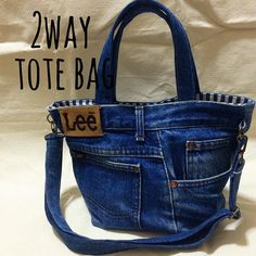 Great way to use up hubbies old jeans Diy Bags Jeans, Denim Tote Bags, Denim Purse, Diy Tote Bag, Blue Jean Purses, Denim Handbags, Denim Crafts, Recycled Denim, Fabric Bags