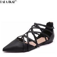 07d868531304d Flat Shoes - Shop Cheap Flat Shoes from China Flat Shoes Suppliers at LALA  IKAI online Store on Aliexpress.com