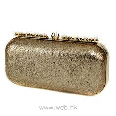Attractive leatherette Rhinestone Clutch $39.98