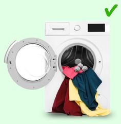 Doing the laundry is probably one of the most boring house chores, but there really is no way around it. Even though engineers invent new home appliances all th Laundry Drying, Doing Laundry, Laundry Hacks, Laundry Room, How To Shrink Clothes, How To Iron Clothes, Remove Makeup Stains, Sorting Clothes, What To Use