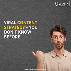 Going viral on social media is not an easy task—it takes months of dedicated hard work to be famous on social media. Swipe left to know the strategies that would help you go viral. Do you need an optimum content strategy for your business? . #socialmediamarketingtips #socialmediaexpert #instagrammarketing #digitalmarketer #marketingconsultant #smallbusinessmarketing #smallbusinessmarketing #digitalmarketingexpert #socialmediamarketingagency Top Digital Marketing Companies, Social Media Marketing Agency, Small Business Marketing, Online Marketing, Marketing Consultant, Customer Experience, Lead Generation, Hard Work, Content