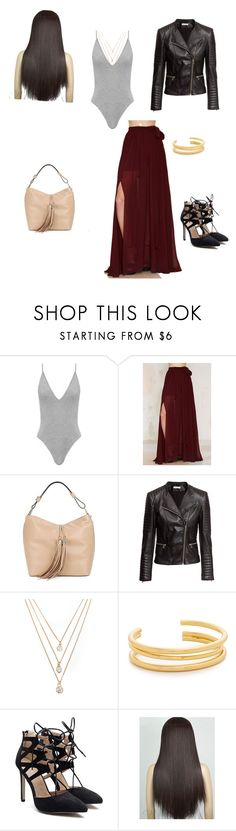 """Untitled #264"" by adrianne-baier ❤ liked on Polyvore featuring Lioness, Karl Lagerfeld, H&M, Forever 21 and Madewell"