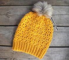 TIĞLA 1 SAATTE ÖRÜLEN BERENİN YAPIMI | Nazarca.com Winter Hats, Crochet Cap, Beanies, Masks