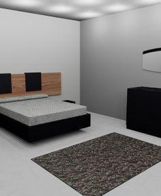 habitacio matrimoni+oval tallat (negre) 1