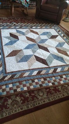 I really love this incredible Patchwork Quilts Star Quilt Blocks, Star Quilt Patterns, Star Quilts, Easy Quilts, Lone Star Quilt, Patchwork Patterns, Colchas Quilting, Quilting Designs, Quilting Ideas