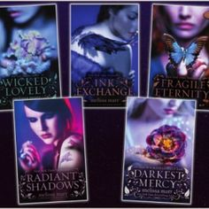 I love all things Faerie and this series is fantastic. <3