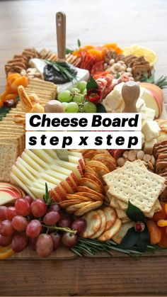 Charcuterie Recipes, Charcuterie And Cheese Board, Charcuterie Platter, Snack Platter, Platter Ideas, Cheese Boards, Party Food Platters, Cheese Platters, Party Food Buffet