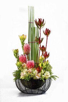 Image result for what is a vertical modern line floral design