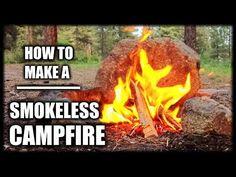 How To Make A Smokeless Campfire K.N.W.