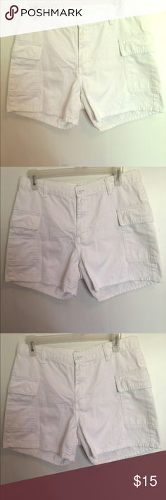 Shorts White, only been worn twice Calvin Klein Jeans Shorts