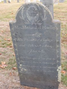 Nutfield Genealogy: Tombstone Tuesday ~ Plummer Hadley, Revolutionary War Veteran, and his wife, Goffstown, New Hampshire #genealogy
