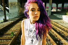 ( `Chloe Norgaard ) ; แนะนำ นางแบบสุดแนว ! กับผมเจ็ดสีมณีเจ็ดแสง แซ่บมาก !! (บันเทิงตะวันตก)