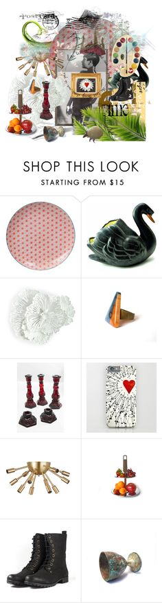 Love For Ever All by seasidecollectibles on Polyvore featuring interior, interiors, interior design, home, home decor, interior decorating, Tokyo Design Studio, Black Swan, vintage and avantgarde
