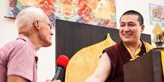 Karmapa,17th with Lama Ole Nydahl - Offizielle Homepage