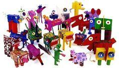 Alan Fletcher's menagerie of rubbish animals