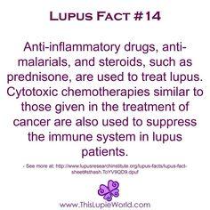 #Lupus Fact: Anti-inflammatory Drugs