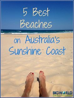 With some of the best beaches on the east coast of Australia, it was hard to pick my favourite from the Sunshine Coast. Finally having whittled it down to 5 - here they are {Big World Small Pockets}