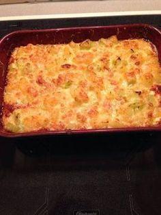 Gratin de poireaux et pommes de terre - Recette de cuisine Marmiton : une recette