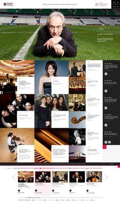 SG - Musical Patronage | UZIK | Interactive communication agency #webdesign